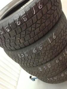 4 Arctic claw winter tires:235/65R16