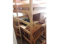 Wooden Bunk Bed Unit - FREE
