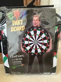 Fancy dress dart board