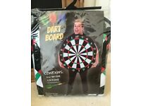 Fancy dress dart board