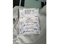 X2 Olly Murs tickets