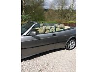 Saab convertible breaking for spares