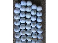 50 IMMACULATE GRADE A GOLF BALLS ,NOT LAKE BALLS