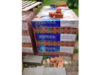 Red Bricks Pallet for sale