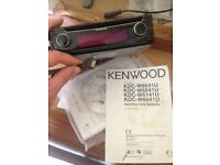 Kenwood cd and usb car stereo unit