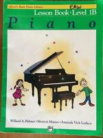 Alfred's Basic Piano Library Level 1B Books