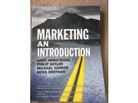 Marketing: An Introduction (2009) Textbook. Armstrong, Kotler, Harker and Brennan