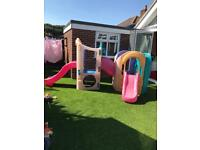 Little tikes 8 in 1 outdoor climbing frame