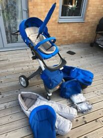 Stokke Xplory v4 with Seat and Style Kit
