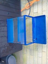 18 litre. Cold water fish tank