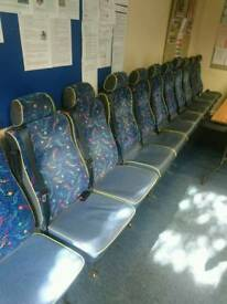 Bus seats ideal for vw camper van conversion