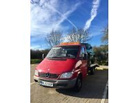 Recovery Mercedes sprinter CDI /03 plate