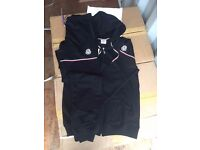 Premium Quality Moncler Tracksuits And Gilets . Sizes Available, M-XXL In Navy, Grey. TWO FOR £80