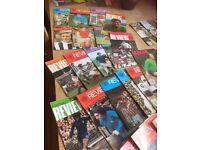 Football magazines vintage