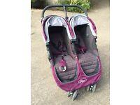 Twin Stroller- City Mini 'Baby Jogger'