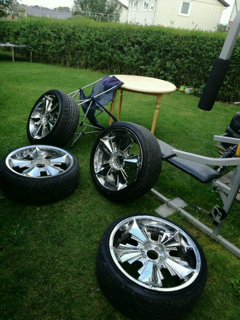 20 Inch Chrome Alloys For Sale