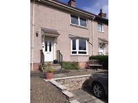 Very large end terrace house.3 double bedrooms bath and shower ,very large garden with decking .