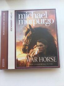 War Horse, Micheal Morpurgo audio