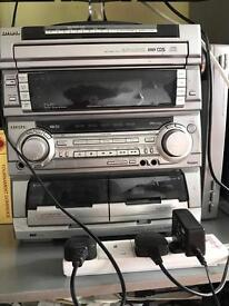 Aiwa compact disc stereo system