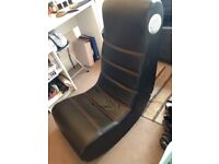 Leather gamer chair