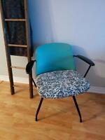 Chaise vintage revitalisée Baumritter Viko