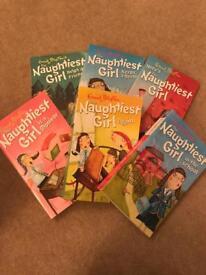 Enid Blyton Naughtiest Girl book bundle