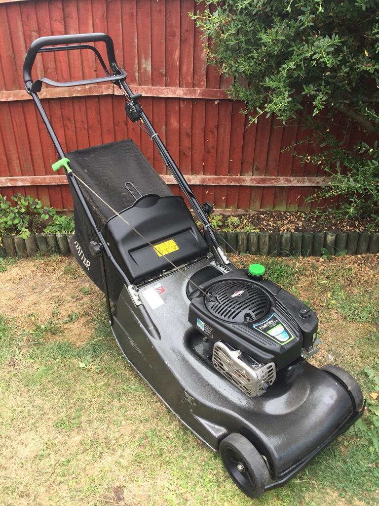 Hayter harrier 48 pro petrol lawnmower
