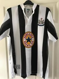 Official Newcastle United retro football shirt