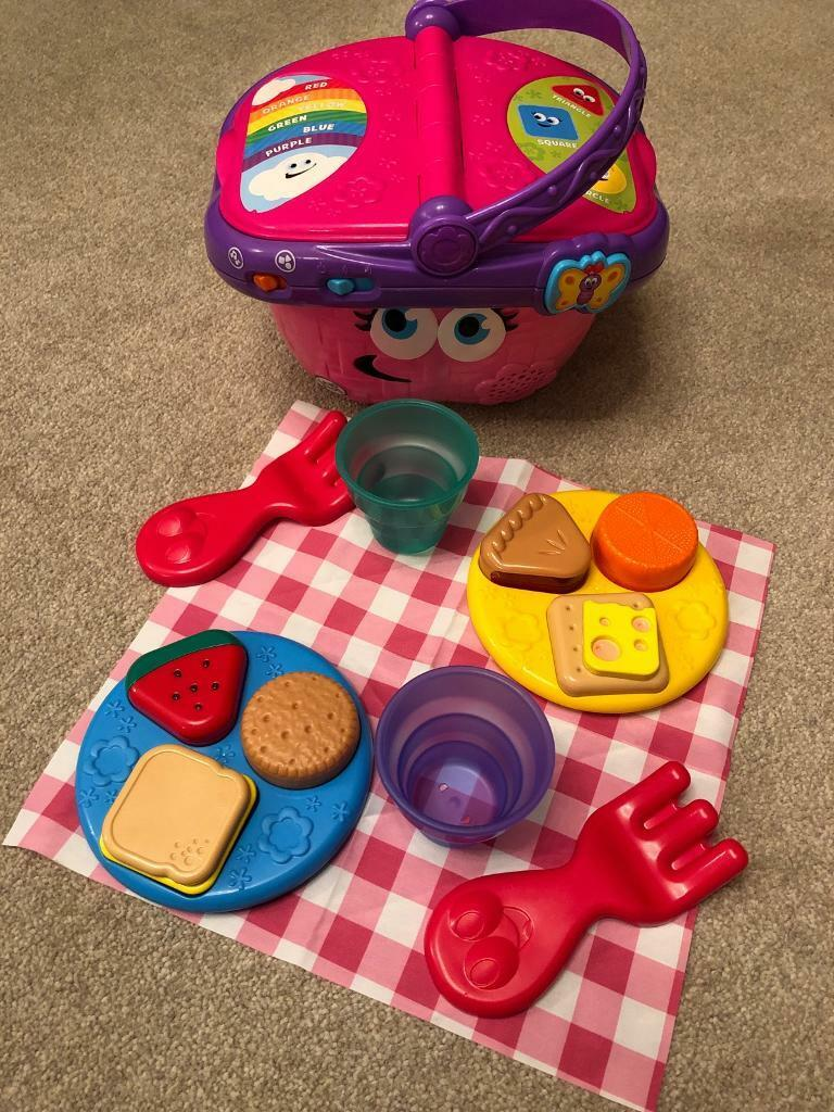 Leapfrog Shapes And Sharing Picnic Basket In Eastleigh Hampshire