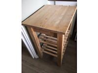 Ikea, Bekvam Birch kitchen trolley