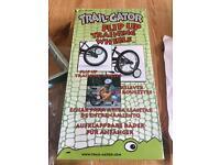 Trailgator training wheels, flip up stabilisers, excellent kids bike training