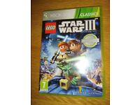 Xbox 360 Game Lego Star Wars III The Clone Wars As New Condition