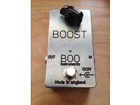 Guitar Boost Pedal by BOO