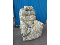 Relaxing Therapeutic Large Riser Recliner Chair with massage