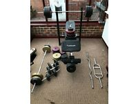 Gym weights and bench ,