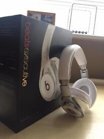 Dr Dre Executive Headphones White