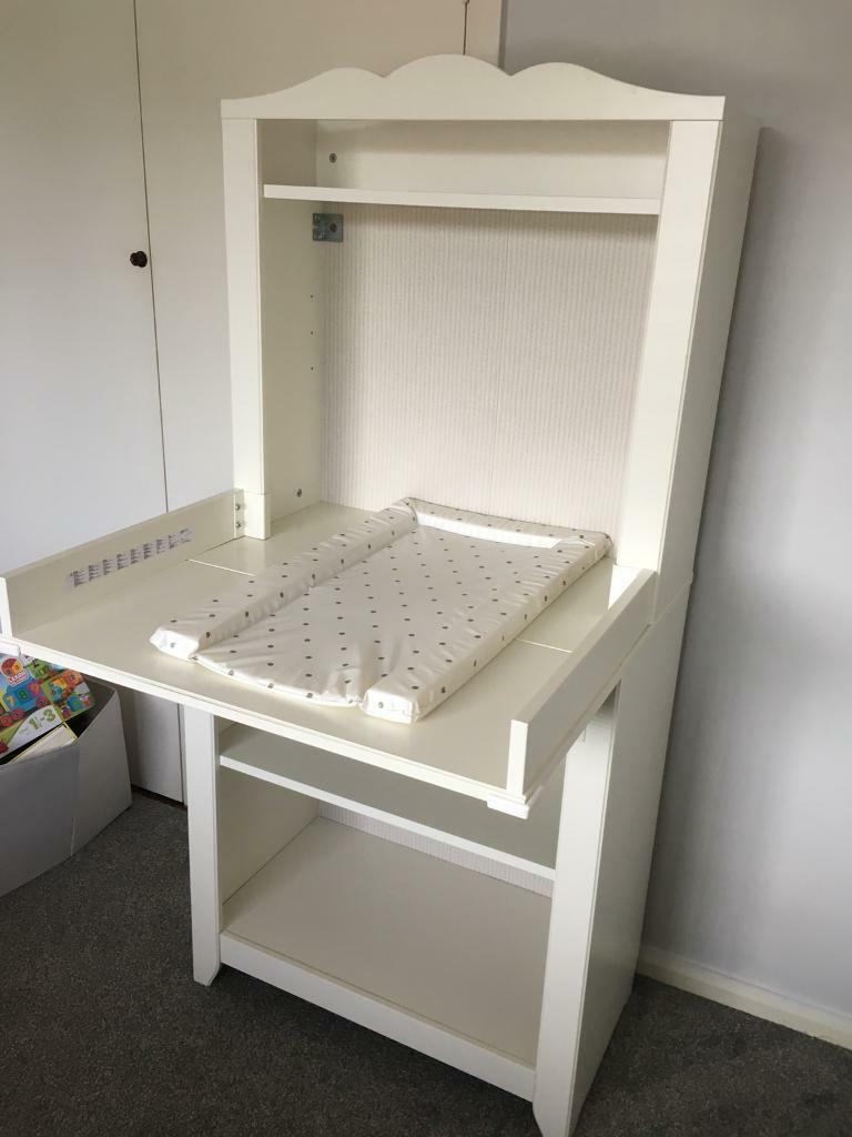IKEA Changing Table And Bookshelf