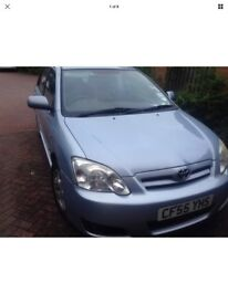 Toyota corolla 2006 1.4 iVVTi- colour collection, NEW EXHAUST, 12 M MOT, new rear tyres £ 1250