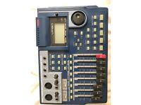 Multitrack recorder Fostex vf80 recording recorder track
