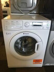 EXCELLENT 9KG HOTPOINT WASHING MACHINE WITH GUARANTEE- PLANET 🌎 APPLIANCE