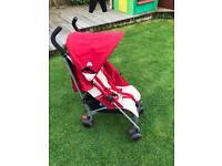 Maclaren Quest pushchair stroller with rain cover