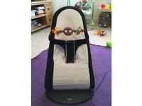 Baby Bjorn baby bouncer with toy bar