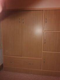 Childs Teak Bedroom Storage Unit
