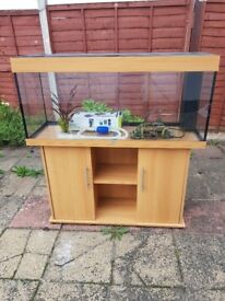 Juwel rio 240 litre fish tank and stand in excellent condition