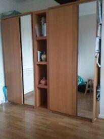 Ikea bedroom wardrobes/drawers