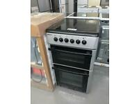 🟩🟩 PLANET APPLIANCE - 50CM WIDE BEKO ELECTRIC COOKER WITH WARRANTY INCL SILVER