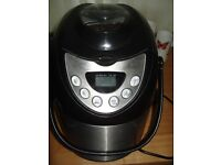 cookworks silver bread maker