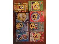 Complete spongebob DVD collection, season 1-8