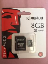Memory card 8gb for sale £8