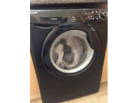 A Black Hoover Washing Machine with 1200 spin in Leeds